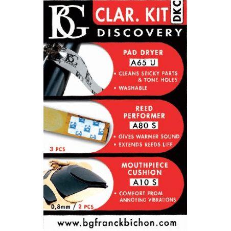 Kit de découverte pour clarinette BG DKC