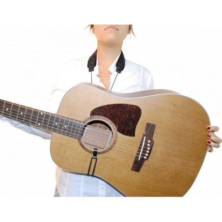 Cordon de guitare en cuir BG GCC