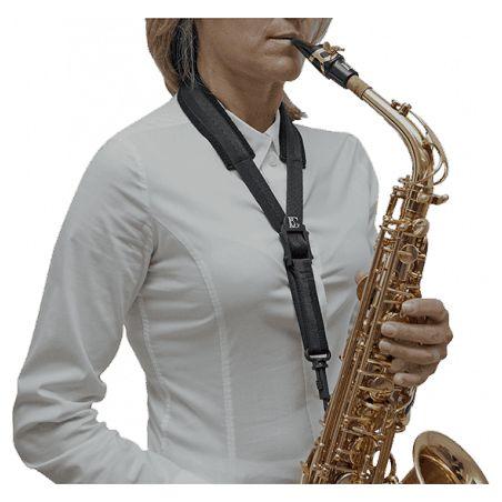 Cordon de saxophone BG Confort Mousqueton à pompe