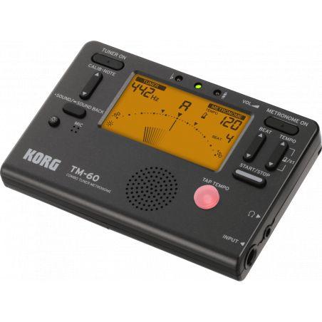 Accordeur-métronome électronique Korg TM60BK