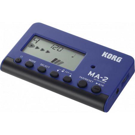 Métronome électronique Korg MA2 bleu et noir