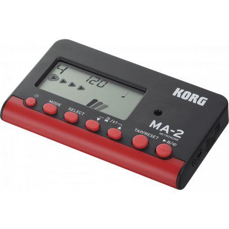Métronome électronique Korg MA2 noir et rouge
