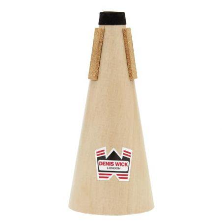 Sourdine sèche en bois de trompette Sib/Ut et cornet Sib Denis Wick 5551