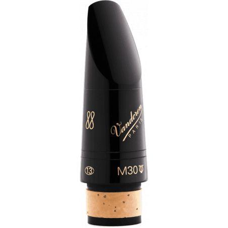 Bec de clarinette Si bémol Vandoren M30 Lyre Série 13 Profile 88
