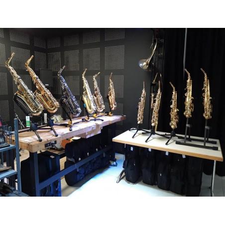 Acheter un saxophone en Alsace | Ophicléide, l'Atelier Cuivres et Bois à Mulhouse